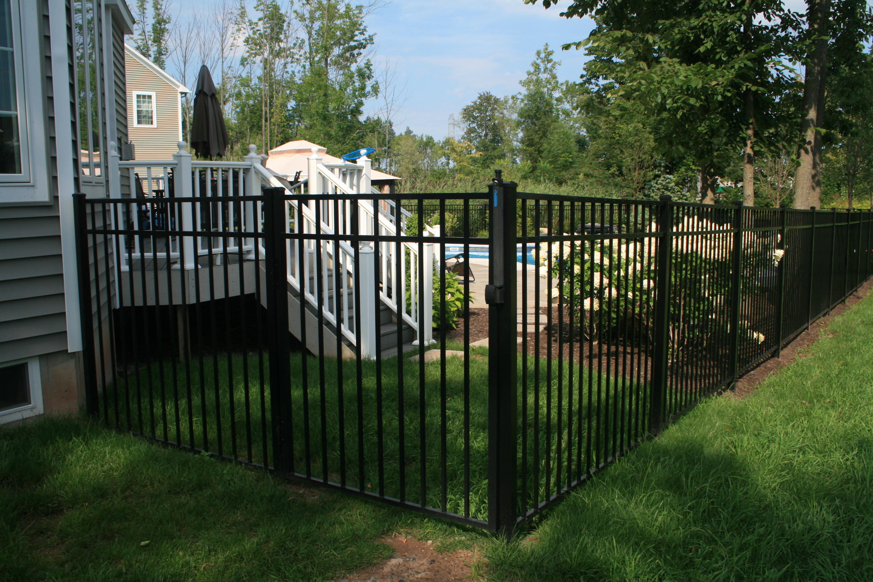 New Fence Installation To Surround Pool Area Gasparini