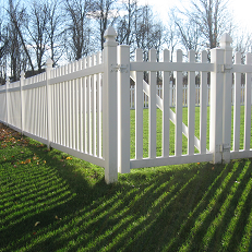 PVC Picket fence syracuse ny vinyl fence prices