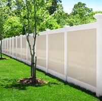 New PVC Fence installation near Syracuse NY - Gasparini Fence Company